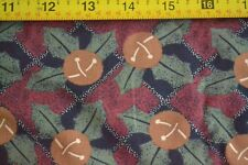Thimbleberries//Old World Comforts N972 Black Red Brown Gold Quilting By 1//2 Yd