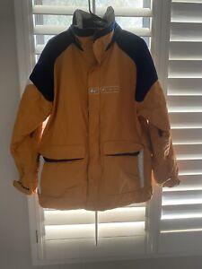 Burton Snowboard Ski Jacket Size L Orange Euc  Mens