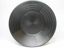 """10"""" 4 STAGE MARTIN PROSPECTING GOLD PAN MADE IN THE US BLACK"""