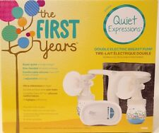 The First Years Quiet Expressions Plus Double Electric Breast Pump