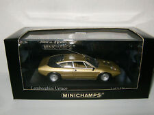 LAMBORGHINI URRACO Gold 1974 Oro Sahara 400 103320 par Minichamps au 1/43