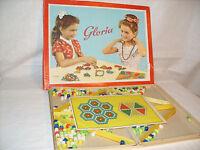 DDR ostalgie Gloria Perlen,Basteln Kreativ Karton 30x23 cm Spielwaren