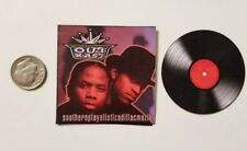 Miniature 1/6 record album  Rap Rapper  Hip Hop action figure OutKast Southern
