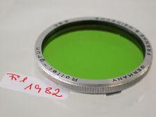 Original Rollei Rolleiflex Grün Green Filter Lens Bajonett B-III fil1982