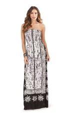Pistachio Bandeau Paisley Print Dress Size 12-14 BNWT RRP £29.99 Black & White