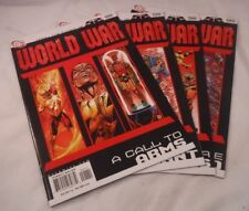DC 52 / World War III Part One: A Call to Arms #1- 4 Justice League(2007)