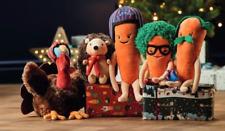 Kevin the Carrot, Wingman Turkey Harry hedgehog Grate Gramps, PJS Official Aldi