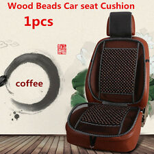 Universal Natural Wooden Beads Car Seat Cover Mesh Mat Seat Cushion For Car Home
