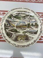 Vintage Howard Johnsons Promotional Pennsylvania Turnpike Collectors Plate