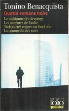 TONINO BENACQUISTA LA MADDONNE DES SLEEPINGS/LES MORSURE DE L'AUBE/TROIS CARRES