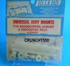Parma 10450 Universal Body Mounts Grasshopper Hornet Associated RC10