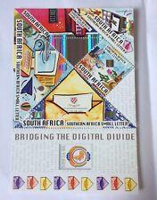 South African Bridging the digital divide Stamps Francobolli sud Africa