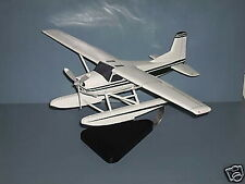 Cessna 182 With Float Wood Airplane Model BIG Free Shipping
