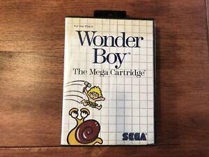Wonder Boy (Sega Master System 1987) - Complete And Tested
