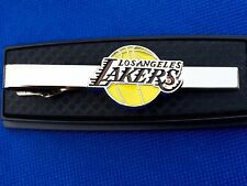 La Lakers Tie Clip Los Angeles Lakers Tie Bar Basketball Tie Clasp