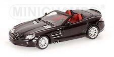 Mercedes Slr Mclaren Roadster 2008 Black 1:64 Model MINICHAMPS