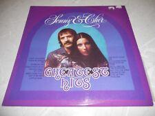 "Sonny & Cher ""Greatest Hits"" 1975 LP Rock/Pop Aust Atlantic SD1025 NM"