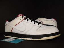 2006 Nike SB DUNK LOW CL AIR JORDAN II 2 RETRO WHITE BLACK RED 304714-117 12