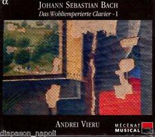 Bach: Il Clavicembalo Ben Temperato Libro 1 / Andrei Vieru - CD