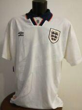 camiseta shirt fútbol vintage selección inglesa
