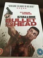 Bullet to the Head DVD (2013) Sylvester Stallone Cert 18 FREE POSTAGE