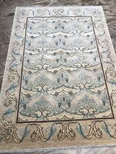 Decorative Handmade Art And Craft Natural Dye Rug Carpet SIZE: 205x140 Cm