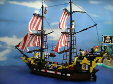 Lego 6285  Black Seas Barracuda Pirate Ship 100% Complete