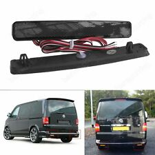 VW Transporter T5 Caravelle LED Rear Bumper Reflector Reverse Tail Light Black