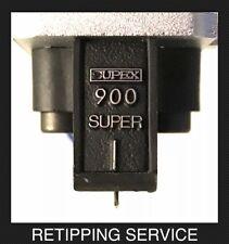 Supex Linn Cartridge Stylus Retipping Nude .3 x .7 Elliptical SERVICE