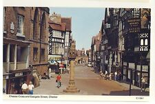 Old Postcard - Chester Cross & Eastgate Street, Chester (Dennis) - Unposted 2004