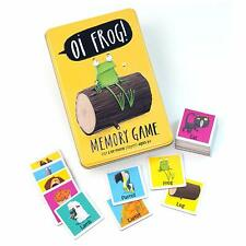 Oi 7345 Frog Memory Card Game, Yellow