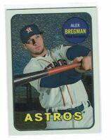 Alex Bregman 2018 Topps Heritage Refractor /999 Houston Astros