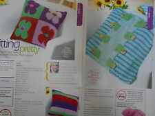 2 colourful CUSHION knitting patterns
