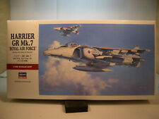 HARRIER GR Mk.7 ROYAL AIR FORCE HASEGAWA 1:48 SCALE PLASTIC MODEL AIRPLANE KIT