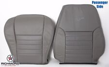 1999 Ford Mustang GT V8 -Passenger Complete Perforated Leather Seat Covers Gray