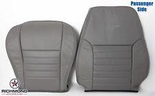 2001 Ford Mustang GT V8 -Passenger Complete Perforated Leather Seat Covers Gray
