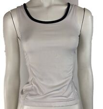 Fila Girls Size Small (7) Ages 6-8 Active Top White Sleeveless