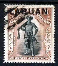 LABUAN Queen Victoria 1897-01 LABUAN Overprint 1c. North Borneo P15½ SG 89ba VFU