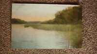 OLD BRITISH POSTCARD c1900, VIEW OF THE FRITTON LAKE ENGLAND