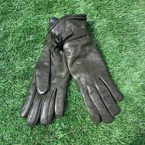 UK British Army Surplus Issue Green Leather Lined ECW Soldier 95 Combat Gloves