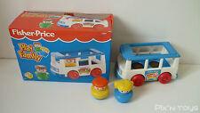 Fisher-Price Vintage / FP Play Family Minibus Mini Van 2359