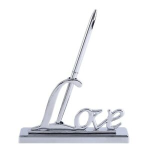 Gold/Silver Fashion Design Wedding Sign Pens Suitable for Weddings and Parties