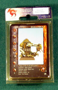 Shaka Umruk, Confrontation Bran-O-Kar Orc,  OOP 28 mm Metal Rackham Miniature