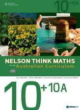 Nelson Think Maths for the Australian Curriculum Advanced 10+10A by Sue Garner, Stephen Swift, Stephen Corcoran, Ross Brodie (Mixed media product, 2012)