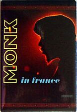 Thelonius Monk In France Fridge Magnet       (ck)