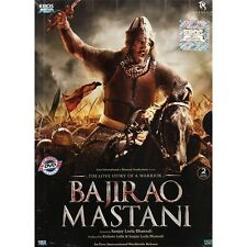 Bajirao Mastani (Hindi DVD) (2015) (English, Arabic Subtitles) (Brand New)