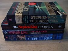 STEPHEN KING SOFT COVER  LOT (4) Companion, Green Mile ,Dark Tower,Drawing of 3
