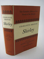 Shirley Charlotte Bronte Clarendon 1st Edition Novel Fiction First Printing