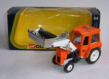 *Corgi Toys No. 54, Massey Ferguson MF 50B Tractor with Shovel, Superb Mint.