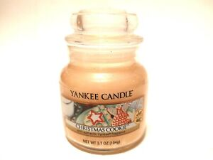 Yankee Candle Christmas Cookie 3.7 oz. Small Jar Candle beige